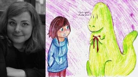 Arianne Theiller fazia desenhos para crianças