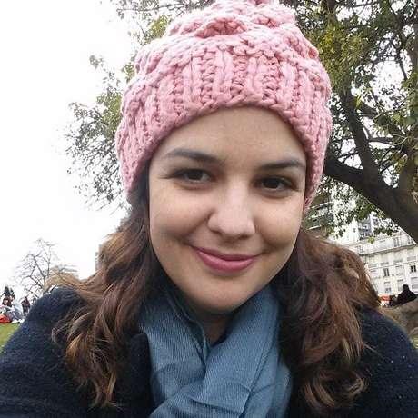 Caroline está fazendo mestrado em educação na Universidade Columbia, nos EUA
