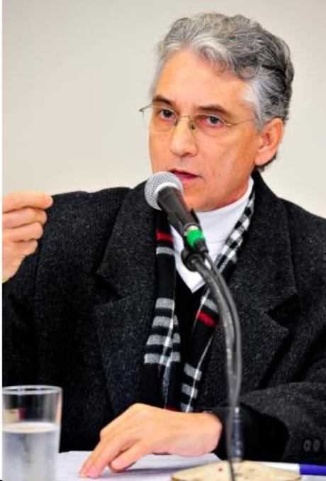 Luiz Nozário, presidente do sindicato dos taxistas