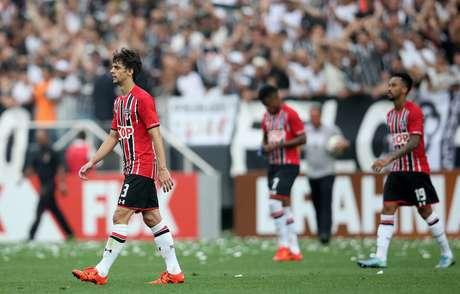 São Paulo sofreu mais uma humilhação em clássico em 2015