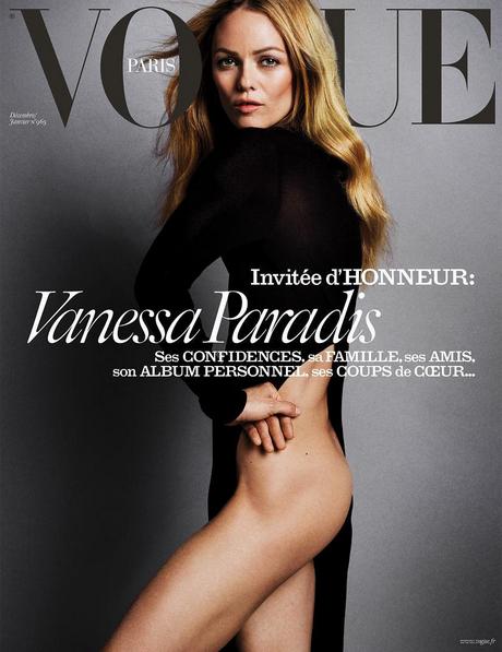 Vanessa Paradis em capa especial da Vogue Paris