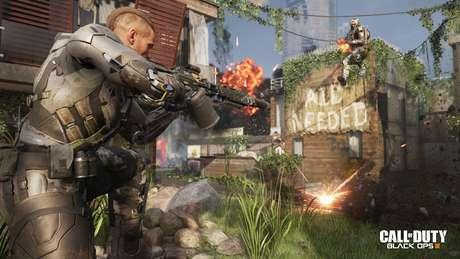 A missão em Black Ops 3 é, como sempre, salvar o mundo