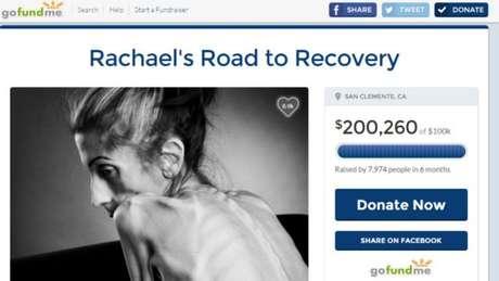 Doações em campanha online atingiram mais do que o dobro da meta