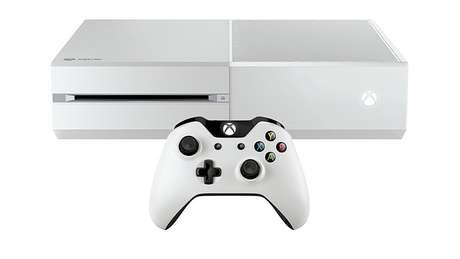 O pacote de Sunset Overdrive traz um Xbox One branco