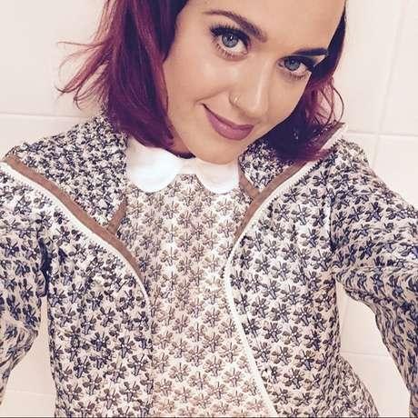 A cantora Katy Perry é supercriativa no visual. Fotos: Reprodução, Instagram