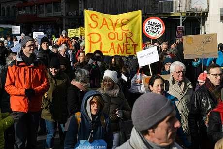 Confusão começou com uma concentração vinculada com a Cúpula do Clima (COP21)