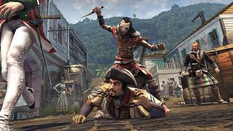 Embora a retratação do País não tenha sido das melhores, uma das fases de Assassin's Creed 3 se passa em São Paulo