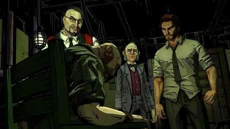 No papel do Lobo Mau, você precisa investigar os assassinatos que estão assombrando as fábulas