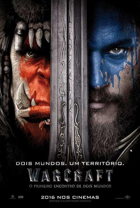 Um dos maiores e mais famosos jogos de RPG online também vai virar filme. Warcraft acompanhará o conflito gerado pelo primeiro contato entre humanos e orcs, mostrando os dois lados da história