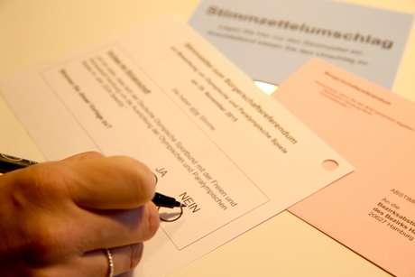 Em referendo realizado no domingo, 51,7% da população de Hamburgo votou contra a realização da competição global na cidade e obrigou as autoridades a retirar a candidatura junto ao Comitê Olímpico Internacional (COI)