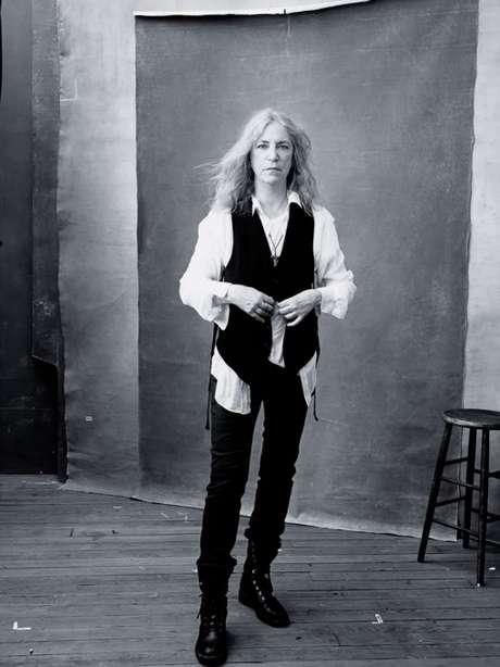 Patti Smith posou para a próxima edição do calendário Pirelli
