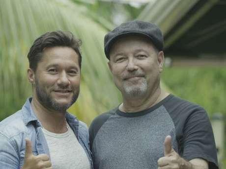 Rubén Blades y Diego Torres grabaron en Panamá el video de la canción en la que cantan juntos.