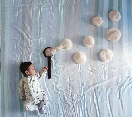 Com roupas de cama m e cria cen rios dos sonhos para o filho - Cenas para bebes de 15 meses ...