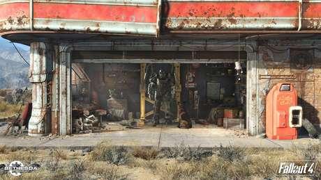 A Power Armor é sua principal defesa no cenário apocalíptico de Fallout 4