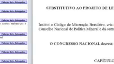 Dados criptográficos revelam que texto foi criado em um laptop do escritório Pinheiro Neto, que defende Vale e BHP, e modificado por um de seus sócios, o advogado Carlos Vilhena