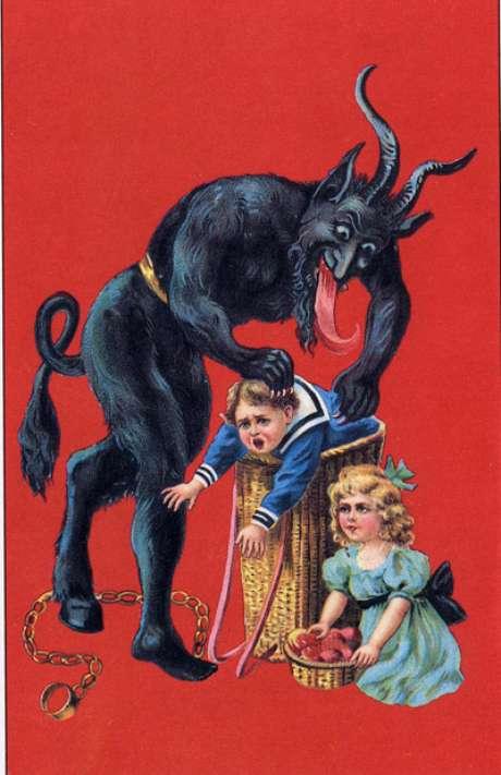 Ilustração do Krampus
