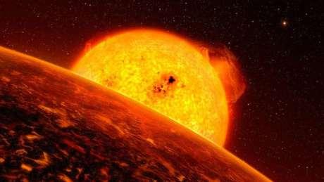 """Com maior probabilidade de vida, as """"superterras"""" são planetas maiores do que a Terra, porém menores do que planetas gigantes gasosos"""