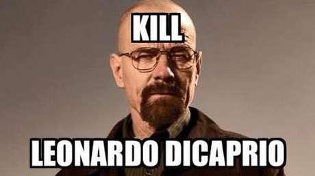Leonardo Di Caprio es el nuevo objetivo de Walter White