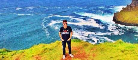Gustavo Duarte escolheu a cidade de Cork para estudar inglês durante 6 meses