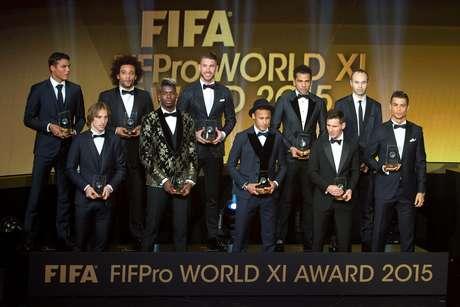 Brasileiros dominam seleção do ano com quatro atletas na lista