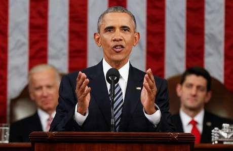 Presidente dos Estados Unidos, Barack Obama.
