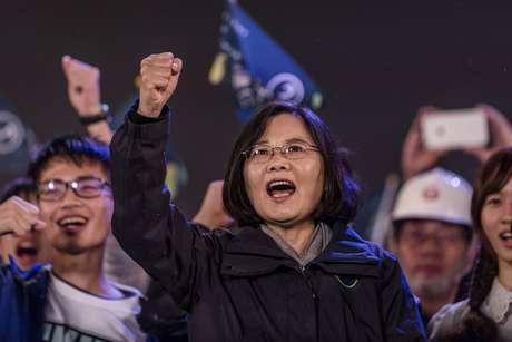 Tsai Ing-wen é eleita presidente