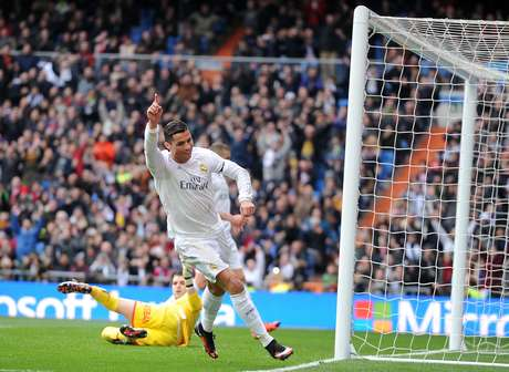 Cristiano Ronaldo marcou dois gols na vitória do Real Madrid