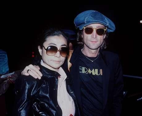 John Lennon e Yoko Ono na década de 80
