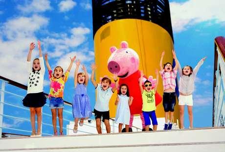 Peppa Pig comandará atividades no clube infantil