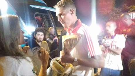 Goleiro Thiago foi o mais saudado entre os vencedores da Copinha