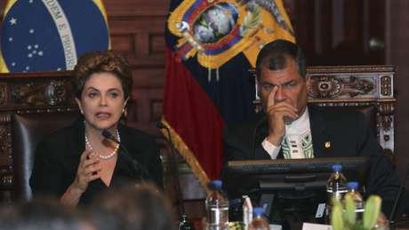 No Equador, Dilma disse que toda a região está preocupada com zika