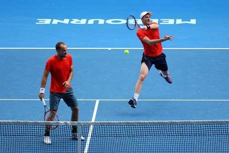 Bruno Soares (à esquerda) chegou a final das duplas do Australian Open