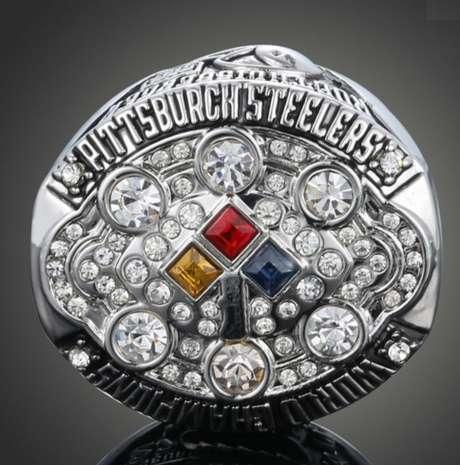 No Aliexpress, uma das replicas do anel de campeão do Pittsburgh Steelers custa R$ 24,03