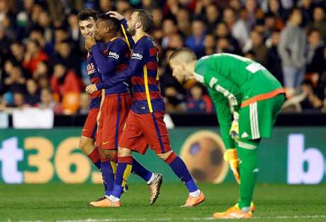Wilfrid Kaptoum comemora gol marcado pelos reservas do Barcelona