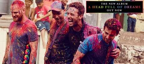 O Coldplay lançou seu sétimo álbum de estúdio em dezembro de 2015 e logo foi parar nas paradas dos mais vendidos no Reino Unido e Estados Unidos