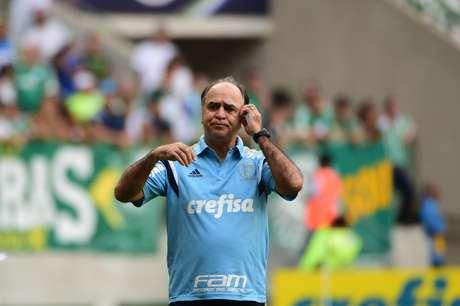 Último trabalho do treinador foi no Palmeiras, onde conquistou uma Copa do Brasil