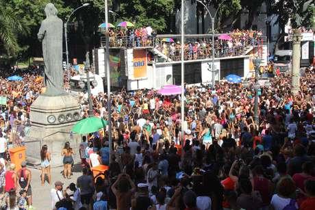 Bloco das Poderosas, no centro do Rio de Janeiro (RJ)