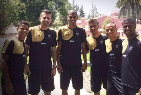 Time do Atlético-MG está hospedada em Arequipa, no Peru