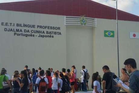 Escola é reinaugurada em Manaus e oferece ensino bilíngue japonês-português