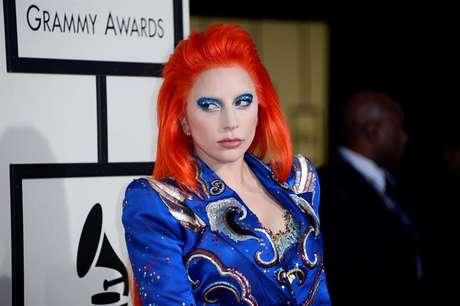 Gaga homenageou David Bowie em sua apresentação