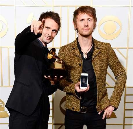 Muse foi o ganhador do melhor disco de rock com 'Drones'