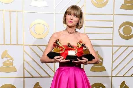 Taylor Swift levou três prêmios Grammy