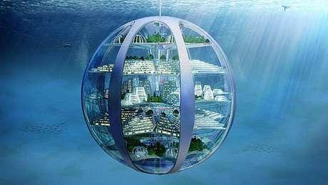"""Para especialistas, o fundo dos oceanos será um bom lugar para construir """"cidades-bolhas"""""""
