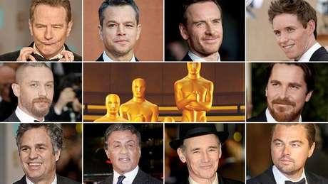 Todos os atores indicados ao Oscar de melhor ator são brancos