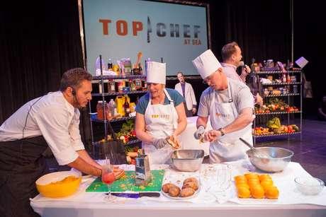 O Top Chef at Sea leva a competição culinária para bordo