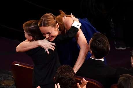"""Melhor Atriz - Brie Larson (""""O Quarto de Jack"""""""