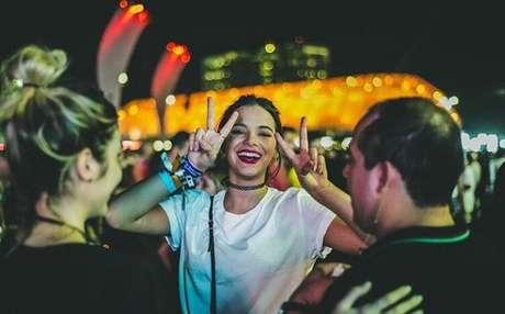 Apaixonada por festivais, a atriz é constantemente flagrada em shows como Rock in Rio e Lolapalloza