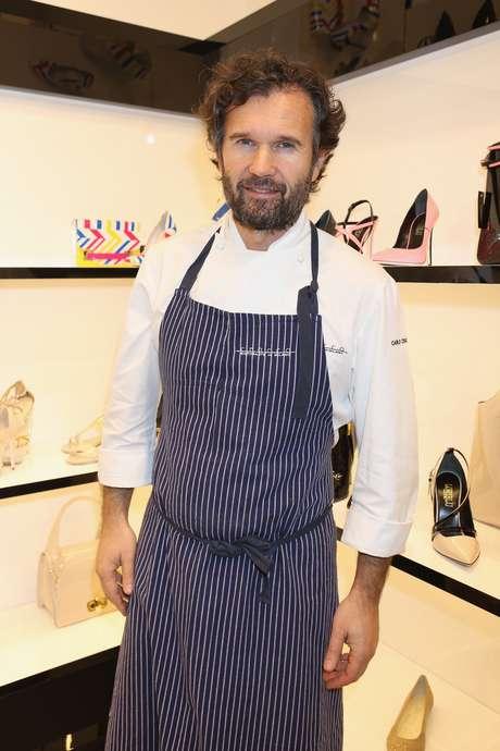 Carlo Cracco é um dos chefs mais famosos da Itália