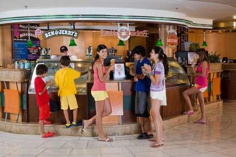 Rede Ben & Jerry's é uma das sorveterias famosas em cruzeiros