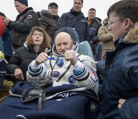 O astronauta norte-americano Scott Kelly